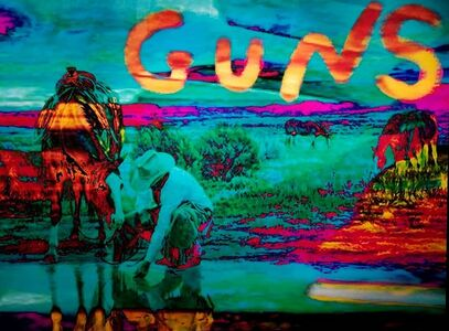 Jonathan Bermudes, 'Guns On ', 20th century
