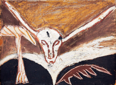 Mimmo Paladino, 'Self portrait', 1982