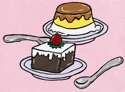 Yukari Sakura, 'The Pucchin Cream Pudding and the Coffee Jelly', 2013