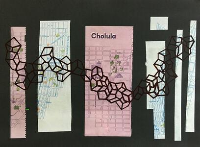 Alê Souto, 'Mapa Cholula', 2019