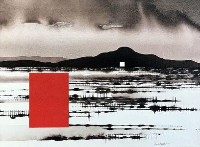 David Middlebrook, 'Mountain and Desert Post-Rain', 2019