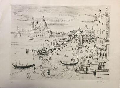Yves Brayer, 'Venice'