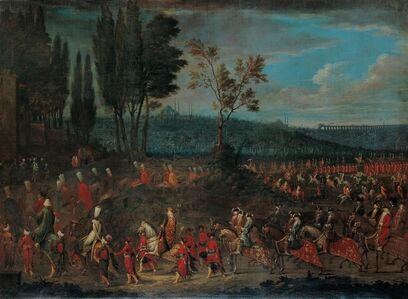 Jean Baptiste Vanmour, 'The Ambassadorial Procession', 1700-1750