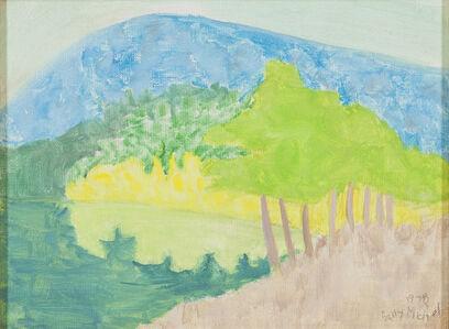 Sally Michel, 'Reflected Mountain', 1978