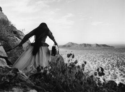 Graciela Iturbide, 'Mujer Ángel, Desierto de Sonora (Angel of the Desert), Mexico', 1979