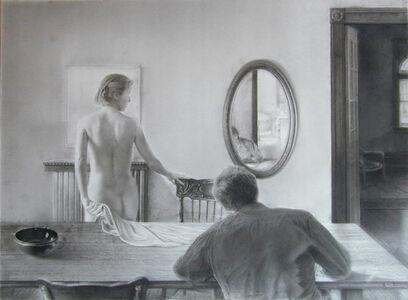 Jeremy Smith, 'Artist and Model', 1987