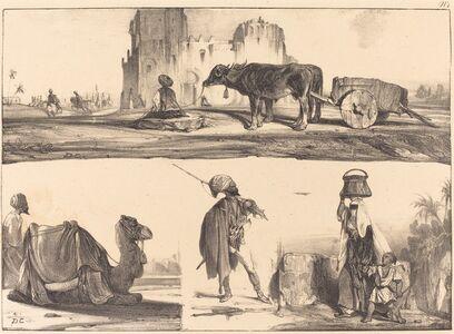 Alexandre-Gabriel Decamps, 'Oriental Vignettes', ca. 1829