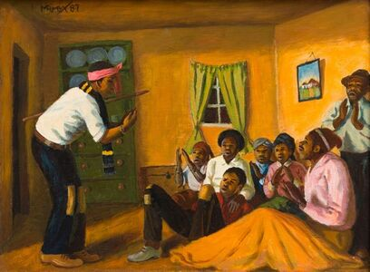 George Pemba, 'The Rehearsal: Umbhorho', 1987