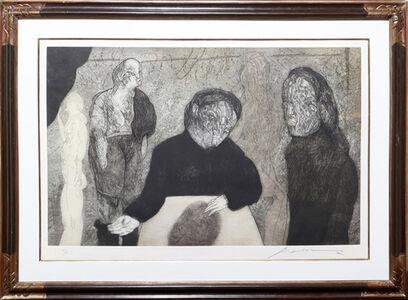Jose Luis Cuevas, 'Clase de Anatomia from Intolerance', 1989