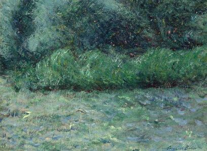 Theodore Earl Butler, 'The Wind in the Willows, Giverny', 1891
