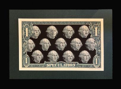 Florence Weisz, 'Clintonart - Speculation: One Dollar Bill', 1998