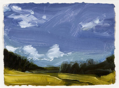 Susan Headley Van Campen, 'White Clouds against the Dark Sky, July 19'