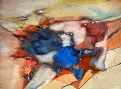 Michael Loew, 'Untitled #253 (Monhegan Rocks and Sky)', 1973