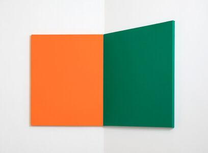 Andrea Büttner, 'Fabric Painting (Corner)', 2015