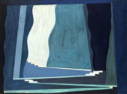Enrico Prampolini, 'Bozzetto di scena teatrale per il balletto 'Claire de Lune', 1926