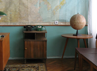 Eve Sussman, 'Yuri Gagarin`s office ', 2008