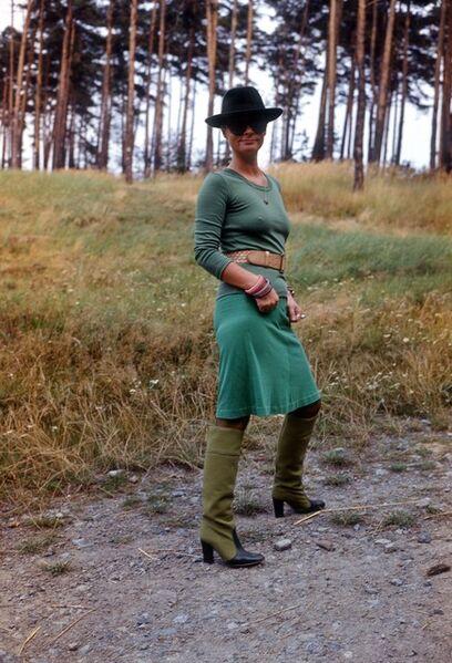 Natalia LL, 'surroundings of Sobotka', 1975