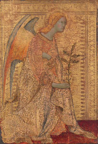 Simone Martini, 'The Angel of the Annunciation', ca. 1333