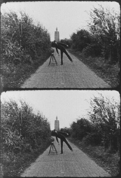 Bas Jan Ader, 'Broken fall (geometric), Westkapelle, Holland', 1971