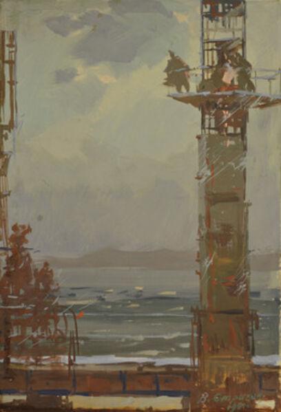 Vasily Vasilevich Strigin, 'Sunset', 1961