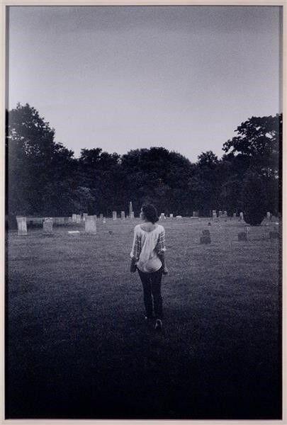 Dash Snow, 'Untitled (Jade B6W cemetery)', 2007