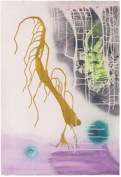Sigmar Polke, 'Goldhaar', 1999