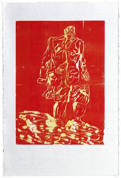 Georg Baselitz, 'Mantel from Remix', 2007