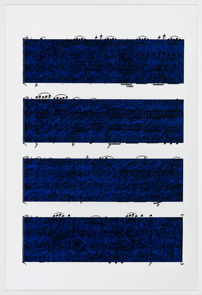 Idris Khan, 'Quartet', 2019
