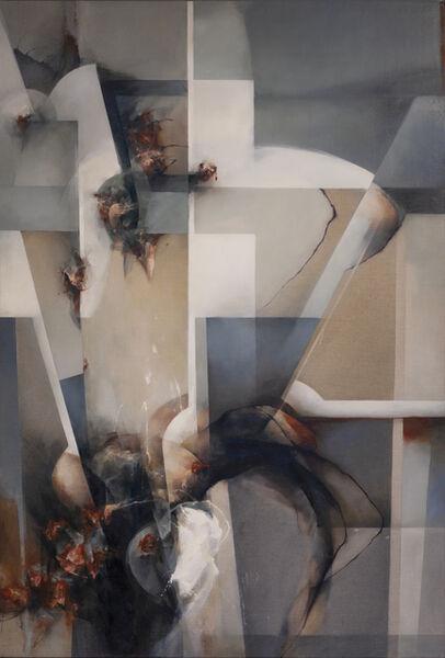 David Mellen, 'Abstract Oil Painitng: 'Bloom'', 2018