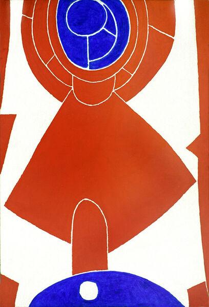 Max Ackermann, 'Komposition 30.September', 1966