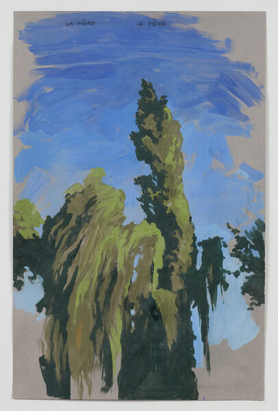 Matthew Benedict, 'Willow and Poplar (the Mother and the Father)', 2011
