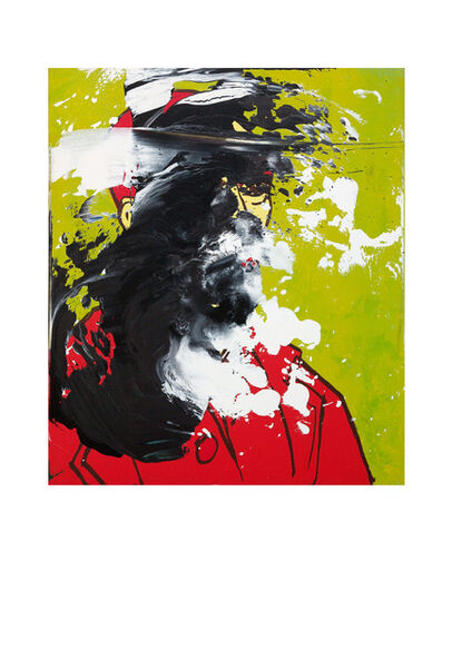 Otto Muehl, 'Untitled (Vincent van Gogh Selbstportrait)', 1990