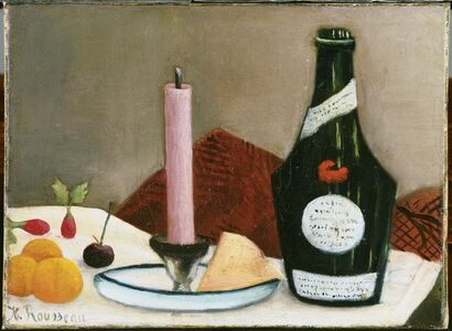 Henri Rousseau, 'The Pink Candle', 1908