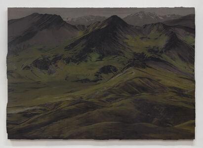Saad Qureshi, 'Green Fire', 2018