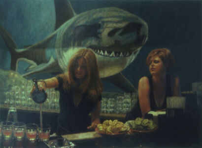 Davis Morton, 'Shark Club #2: Emy's Shots', 2001