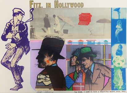 Richard Merkin, 'Fitz. in Hollywood', ca. 1980