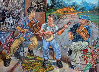 Art Rosenbaum, 'The Stone Mountain Wobblers', 2012