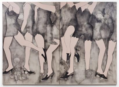 Jim Dine, 'Moving Girls & Dreams', 1965