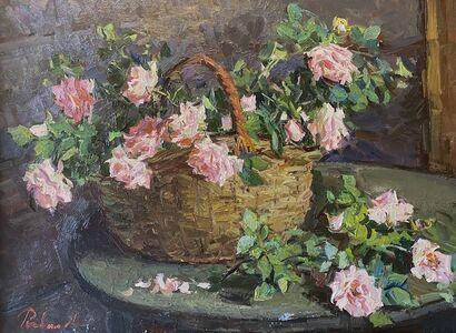 Irina Rybakova, 'Basket of Roses', 2019
