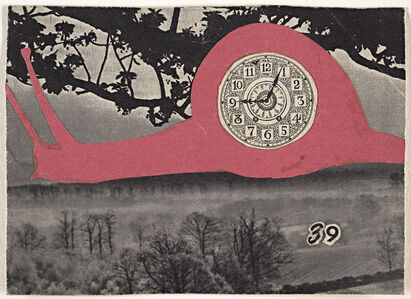 Carl Plate, '39 (Pink snail)', 1945