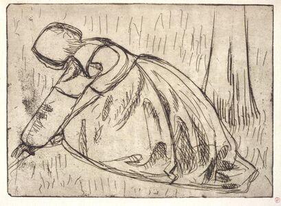 Armand Séguin, 'La Glaneuse (the Gleaner)', 1893