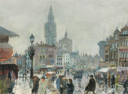 Oskar Laske, 'Antwerpen', ca. 1930