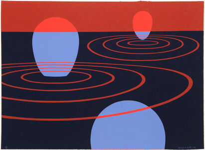 Clarence Holbrook Carter, 'Transection I', 1971