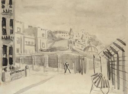 Ernst Eisenmayer, 'Internment in Douglas', 1940