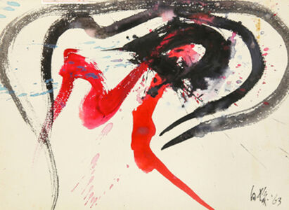 Kazuo Shiraga, 'Untitled 4', 1963