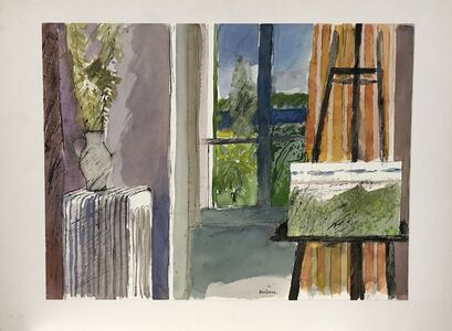 Guy Bardone, 'Chavalet devant la fenetre', ca. 1984