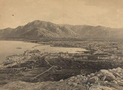 Themistocles von Eckenbrecher, 'The Harbor of Piraeus', 1891