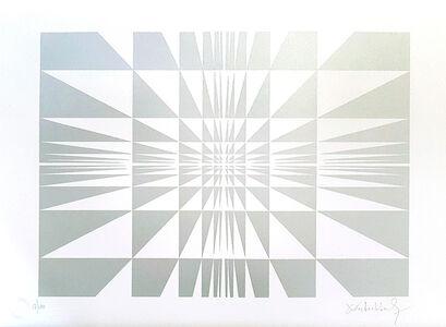Victor Debach, 'Silver Composition', 1970s