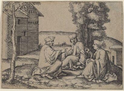 Marcantonio Raimondi, 'The Three Doctors'