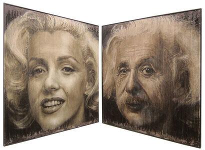 Sergi Cadenas, 'Marilyn/Einstein', ca. 2018